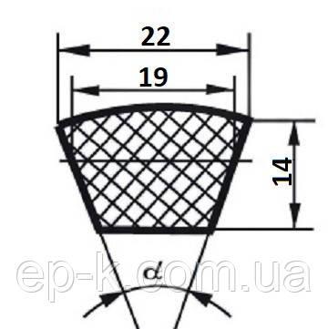 Ремень клиновой  С (В)-3325