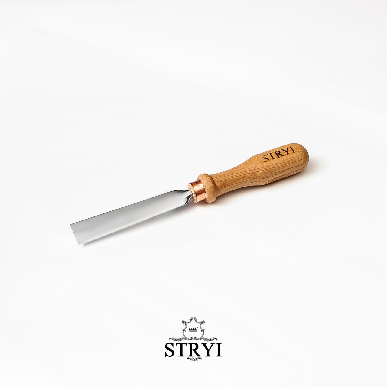 Стамеска профессиональная плоская STRYI 20мм, от производителя