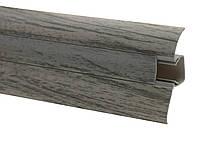 Арт.501 Плинтус 54 мм дуб онтарио, шт