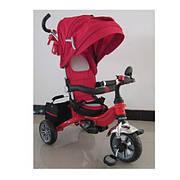Детский трехколесный Велосипед M 2732-1 красный Turbo Trike