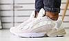 Кроссовки ADIDAS белые замшевые