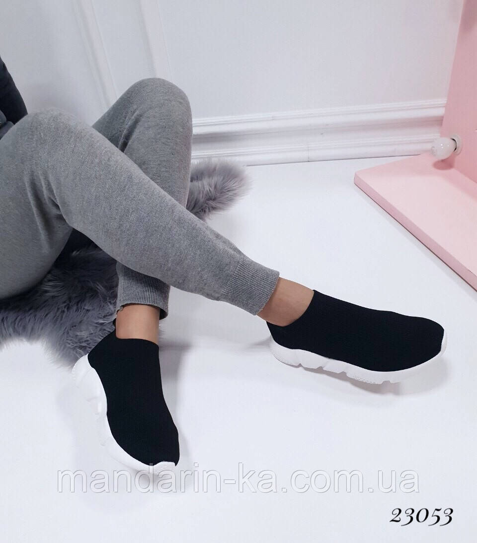 Женские кроссовки Balenciaga Баленсиага  текстиль (реплика)