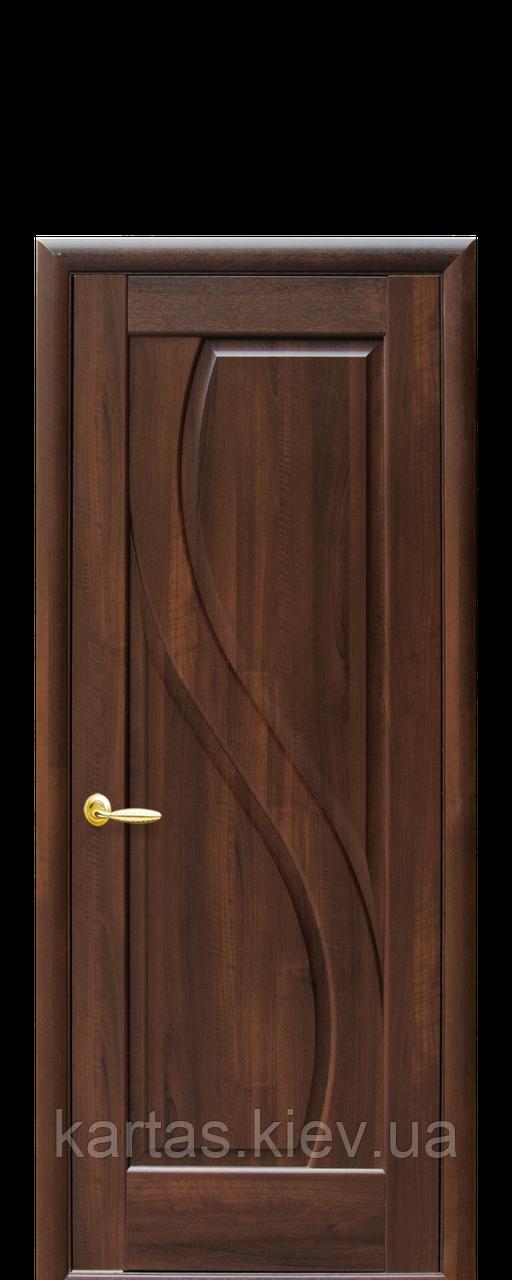 Дверное полотно Прима Каштан глухое