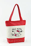 Сумка Комби «Hello Kitty с сердечками» горизонтальная