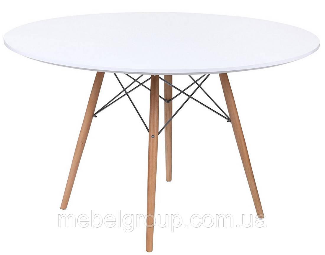 Стол обеденный Тауэр Вуд круглый d-120см