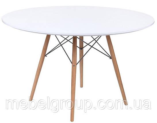 Стол обеденный Тауэр Вуд круглый d-120см, фото 2