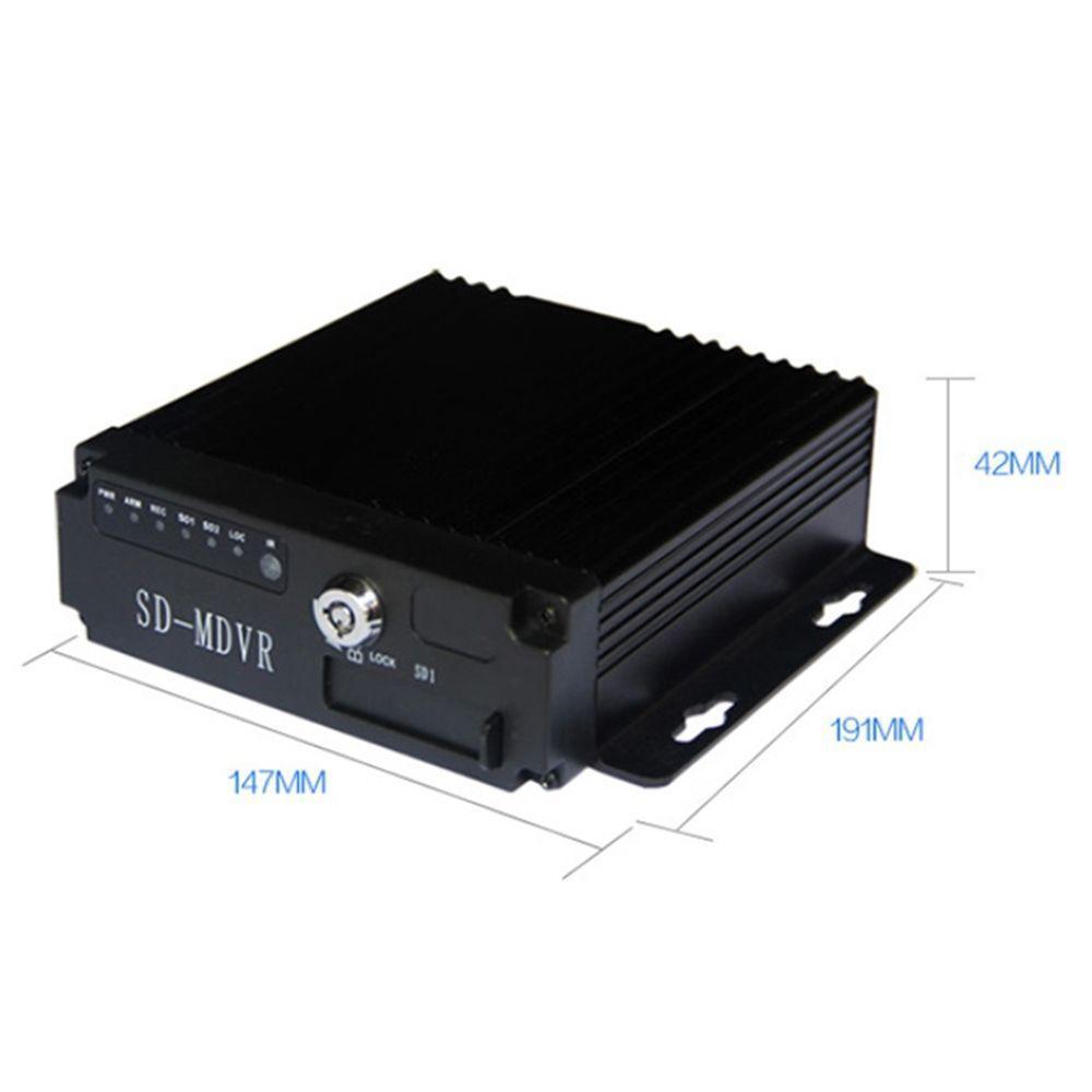 Автомобильный регистратор+ GPS трекер WI- Fi на 4 камеры(грузовик, автобус) MDVR 4CH SW-0001С