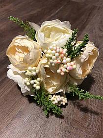 """Букет-дублер на весілля """"Ніжні троянди """""""