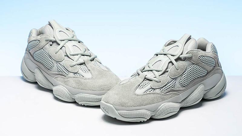 Женские кроссовки Adidas Yeezy 500 White