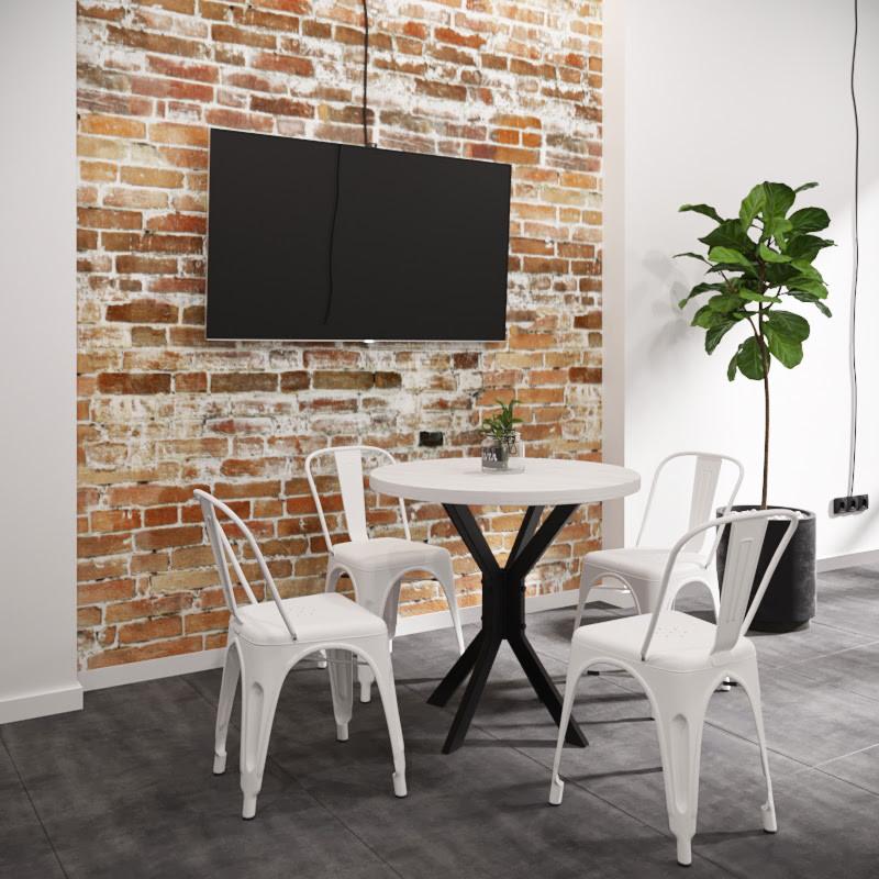 Стол Фолд d 80 см ТМ Металл-Дизайн