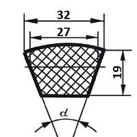 Ремень клиновой  Д(Г)-2240