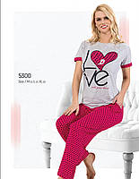 Женская пижама летняя  Fawn 5300 хлопок