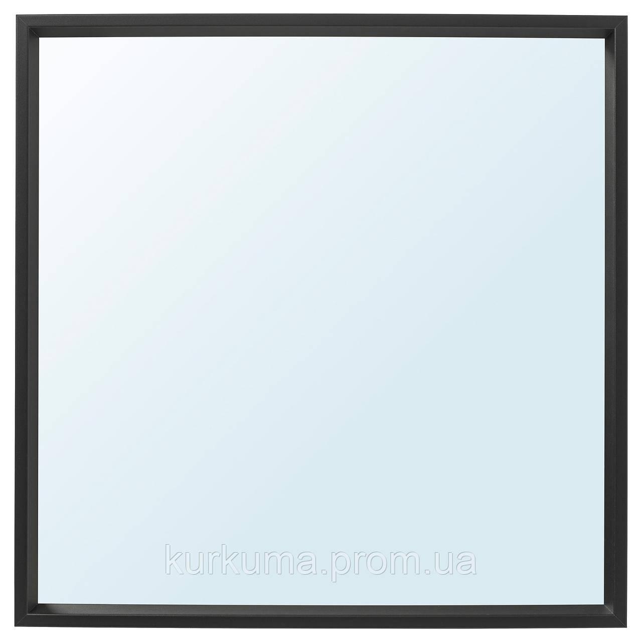 IKEA NISSEDAL Зеркало, черное  (503.203.20)