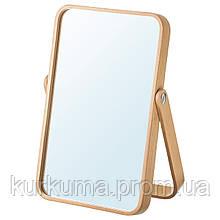 IKEA IKORNNES Настольное зеркало, ясень  (003.069.20)