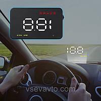 Проектор скорости движения на лобовое стекло HUD A1000