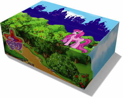 коробка для детского подарка