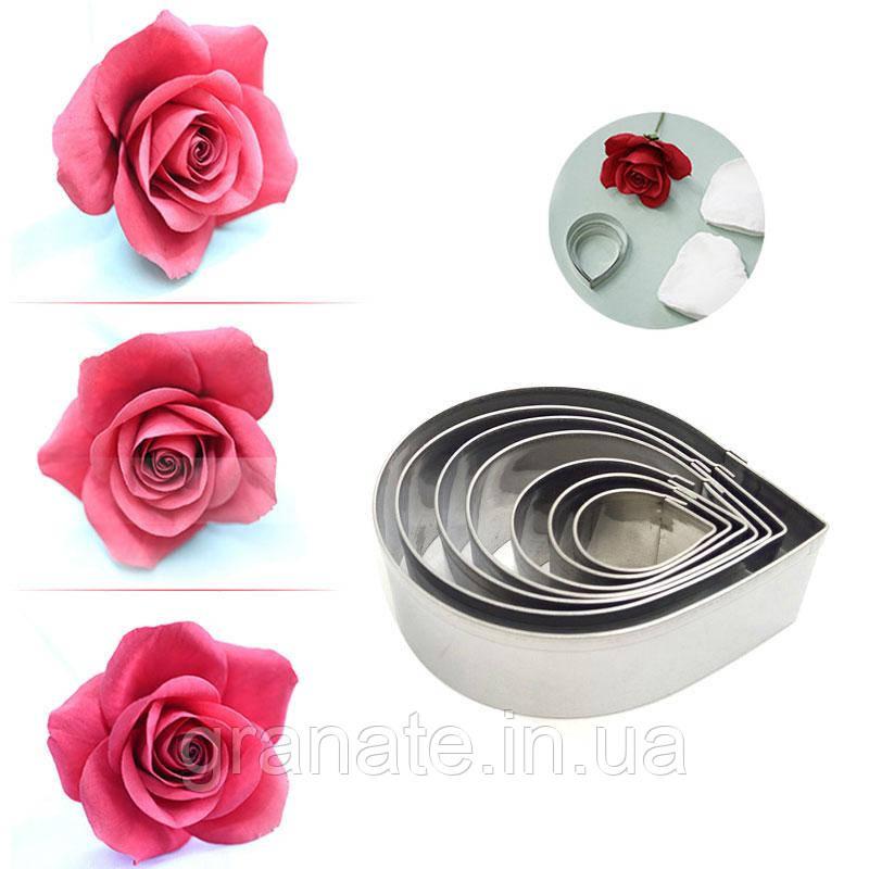 Вырубка для мастики Лепестки Роз