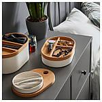 IKEA SAXBORGA Коробка з дзеркалом, пластикова пробка (803.918.82), фото 2