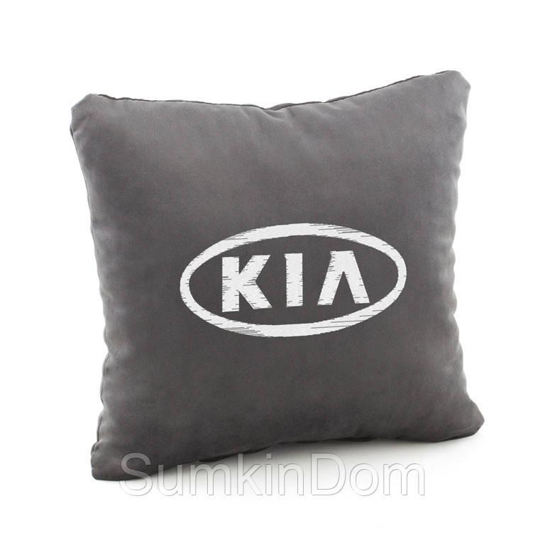 Автомобильная подушка KIA  флок
