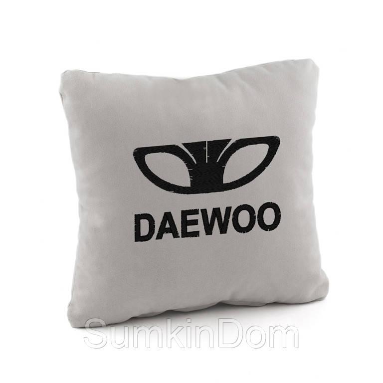 Автомобильная подушка Daewoo  флок
