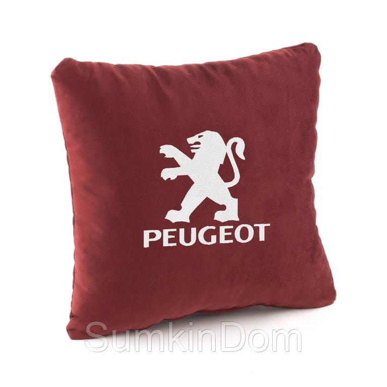 Подушка в авто Peugeot флок
