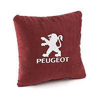 Подушка в авто Peugeot флок, фото 1