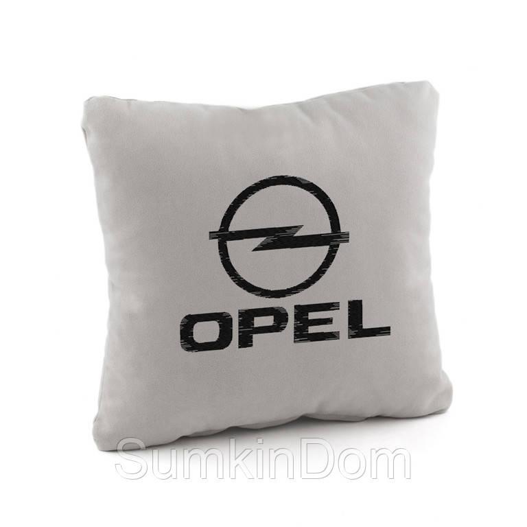 Автомобильная подушка OPEL  флок