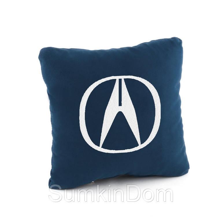 Подушка с лого Akura флок