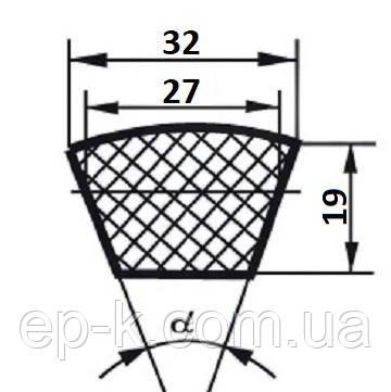 Ремень клиновой  Д(Г)-7100