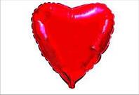 """Сердца 18"""" однотонные"""
