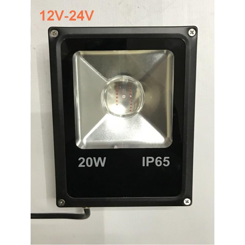 Светодиодный линзованый прожектор SL-20Lens  20W 12-24V 6400К IP65 Код.59506