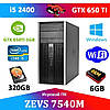 Игровой ПК ZEVS PC7540M i5 2400 4x3.1GHz +GTX 650TI +ИГРЫ