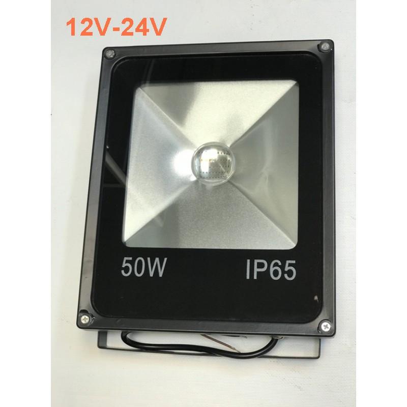 Светодиодный линзованый прожектор SL-50Lens 50W 12-24V 6400К IP65 Код.59504