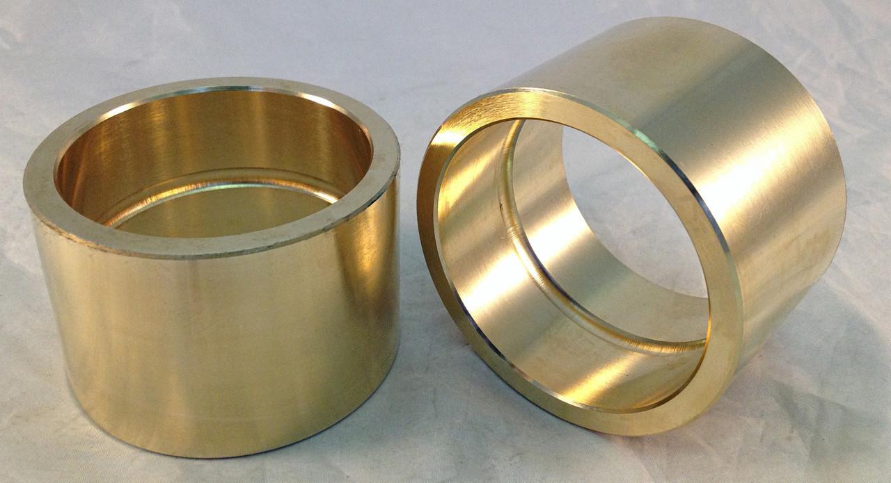Втулка бронзовая бронза БрО10Ф1 выливаем под заказ от 5 до 7 дней.