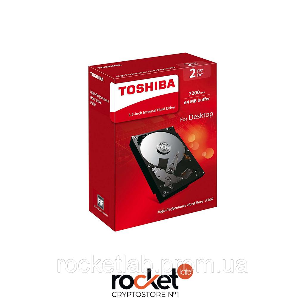 Накопитель HDD 2TB TOSHIBA (DT01ACA200)