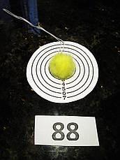 Меховой помпон Норка, Лимон, 2,5 см,  88, фото 2