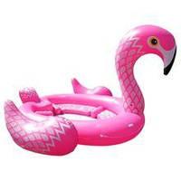 Надувной плот Modarina   гиганский розовый Фламинго 488 см Розовый NW3030, фото 1