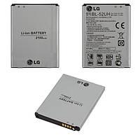 Батарея (акб, аккумулятор) BL-52UH для LG Optimus L70 D320, D325, 2100 mAh, оригинал