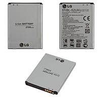 Батарея (акб, аккумулятор) BL-52UH для LG Spirit Y70 H422, 2100 mAh, оригинал