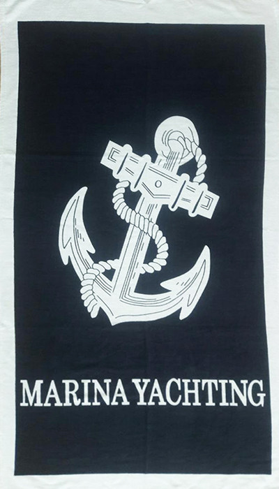 Полотенце пляжное Yachting