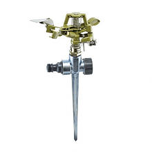 Дощувач Presto-PS зрошувач імпульсний для газону металевий (8105D)