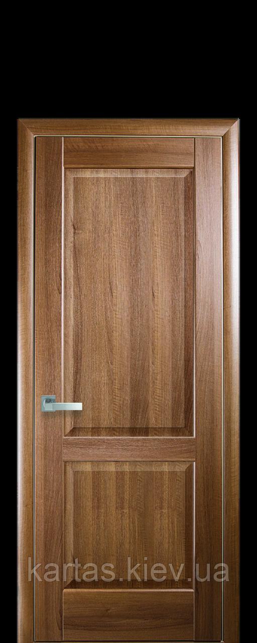 Дверное полотно Эпика Золотая Ольха глухое