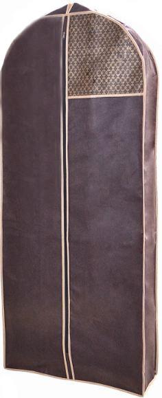 Чехол для объемной одежды Brown 60*140*8 см, Design Line (Украина) 4620