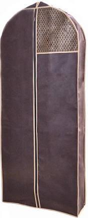 Чехол для объемной одежды Brown 60*140*8 см, Design Line (Украина) 4620, фото 2