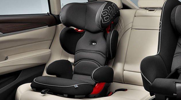 Оригинальное детское кресло BMW Junior Seat группа 2/3, Black / Anthracite, артикул 82222448816