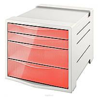 Настольный короб для документов Esselte Colour'ice, 4 ящика, 626283