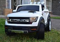 Детский электромобиль Ford Long: кож.сидение, колеса EVA и 4 амортизатора