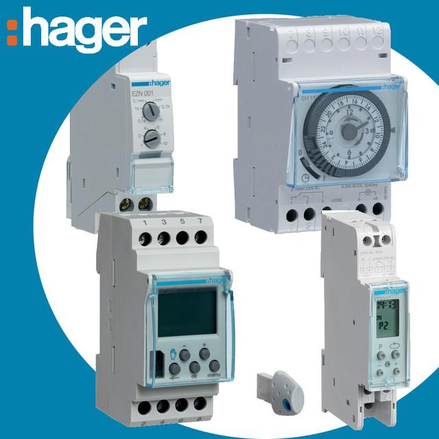 Устройства управления и автоматизации Hager