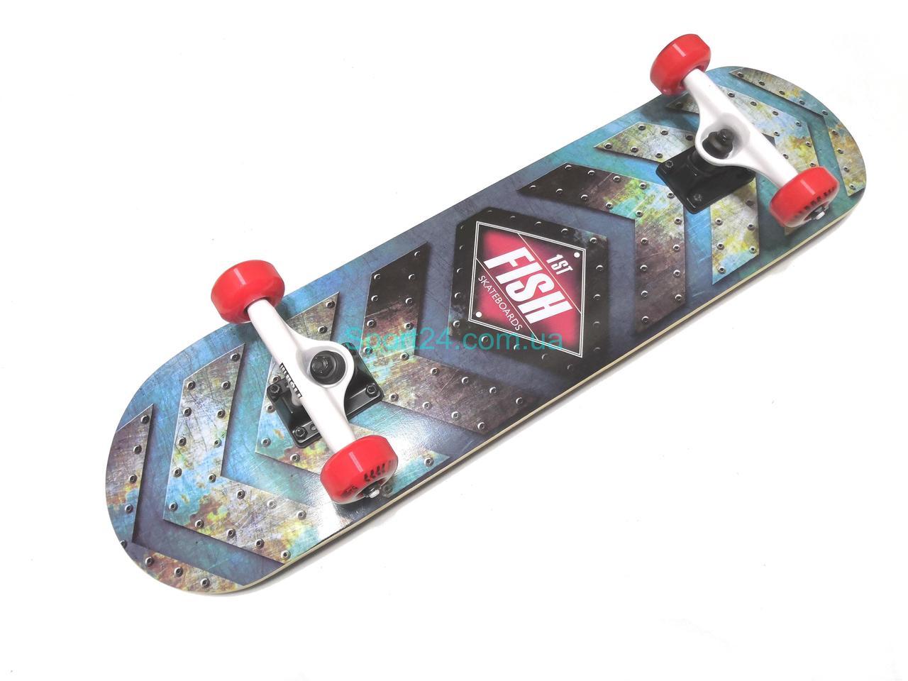 Скейтборд Fish Skateboard № 1 (First) , до 90 кг