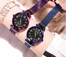 Роскошные  женские кварцевые наручные часы с магнитным ремешком Meibo